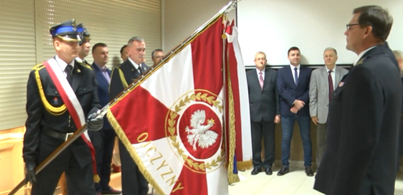 Zastępca komendanta PSP pożegnał się z mundurem strażackim