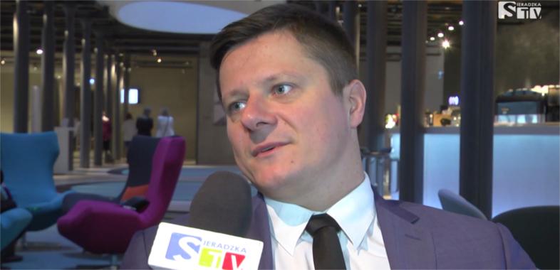 Rozmowa z prezesem ŁARR Przemysławem Andrzejakiem na IX Europejskim Forum Gospodarczym Łódzkie 2016
