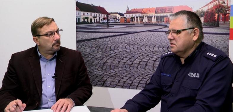 """""""Nasze Sprawy"""" – rozmowa z nadkom. Wojciechem Kuśmierkiem Komendantem KPP w Sieradzu"""