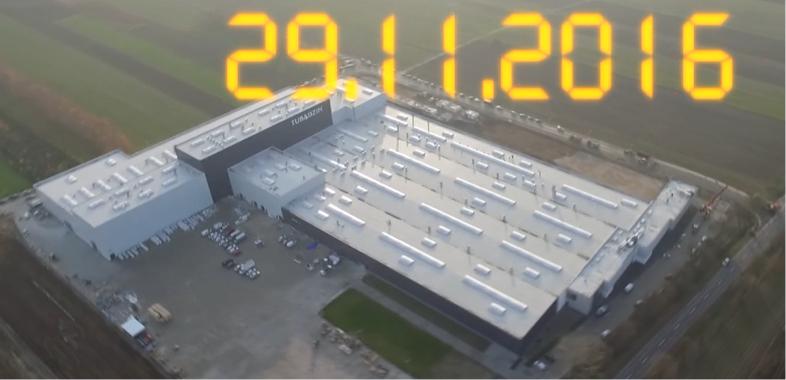 Budowa fabryki Grupy Tubądzin w Sieradzu