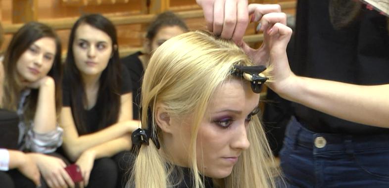 II Międzyszkolny Konkurs Fryzjerski o Grzebień Mistrza Antoine'a