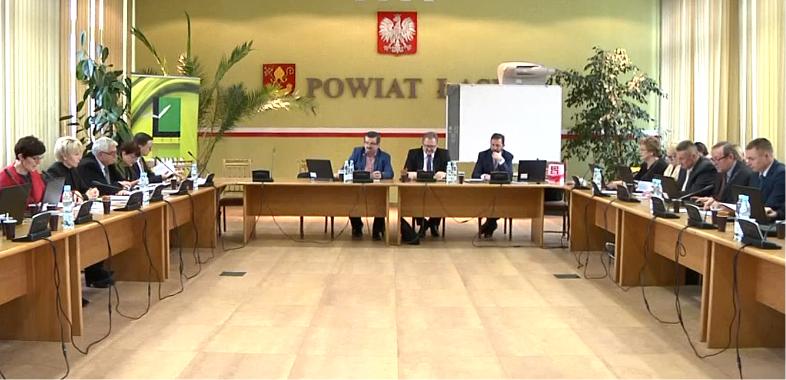 XXV Sesja Rady Miejskiej w Łasku