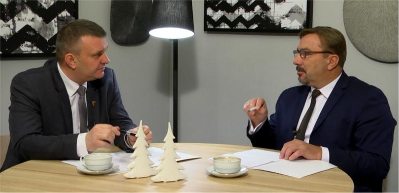 """""""Nasze Sprawy"""" – rozmowa z Mariuszem Bądziorem Starostą Powiatu Sieradzkiego"""