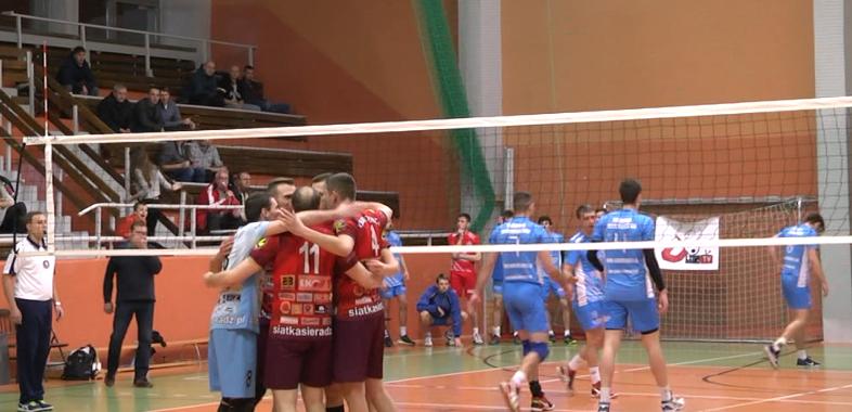 Mecz siatkówki mężczyzn ULKS MOSiR Sieradz – Bzura Ozorków