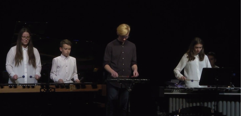 Koncert kolęd Państwowej Szkoły Muzycznej I st. w Sieradzu