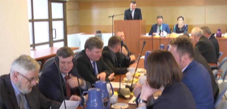 Pierwsza w tym roku sesja Rady Powiatu Sieradzkiego