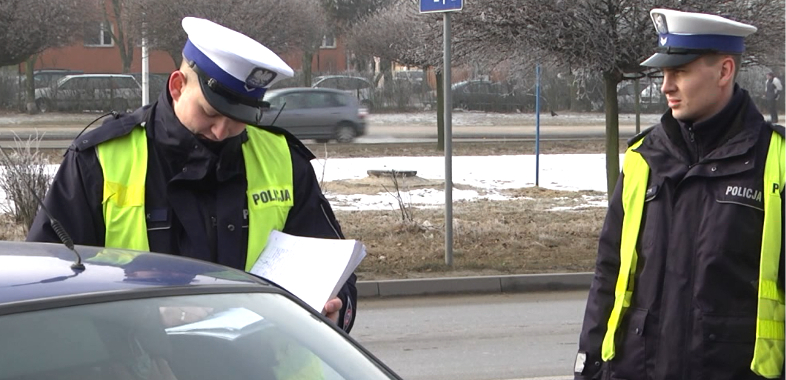 Walentynkowa akcja policji