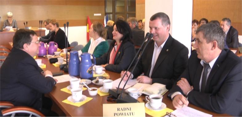 XXXIII Sesja Rady Powiatu Sieradzkiego