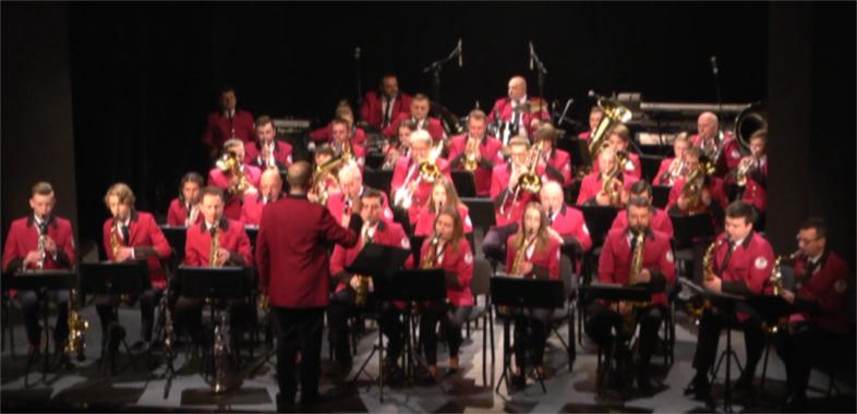 Koncert Miejskiej Orkiestry Dętej Ochotniczej Straży Pożarnej w Sieradzu