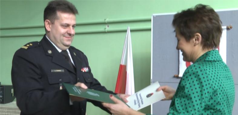 Mundurowe porozumienie z Zespołem Szkół Ponadgimnazjalnych w Błaszkach