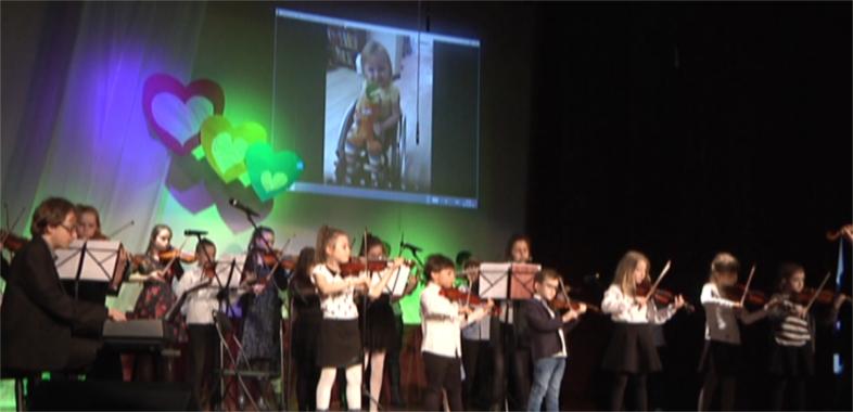 Koncert charytatywny dla Emilki w Łasku