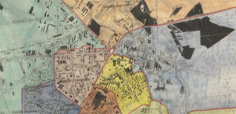 Funkcjonowanie Mapy Zagrożeń w Sieradzu