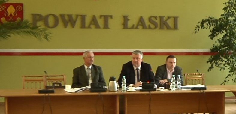 XXXV Sesja Rady Powiatu Łaskiego