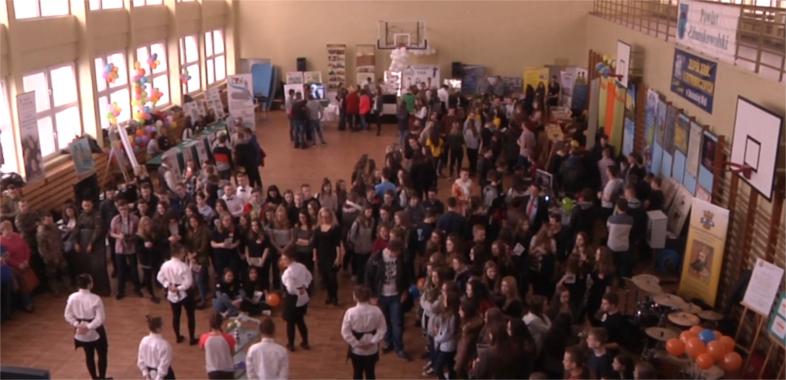 Targi edukacyjne dla gimnazjalistów w Zduńskiej Woli
