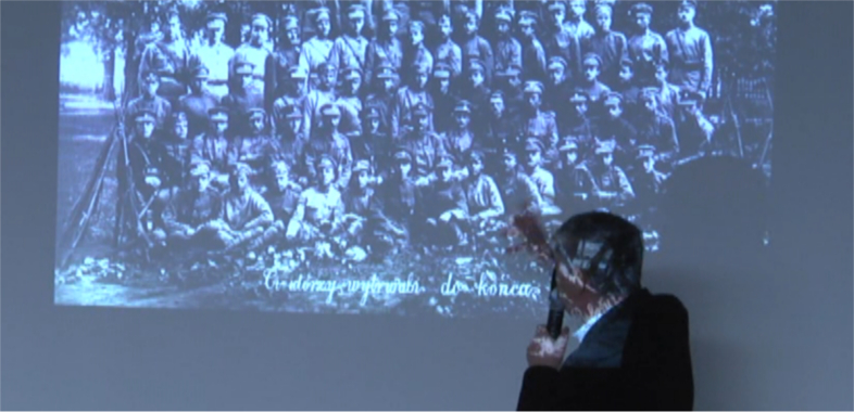 Prelekcja Jana Pietrzaka w sieradzkim muzeum