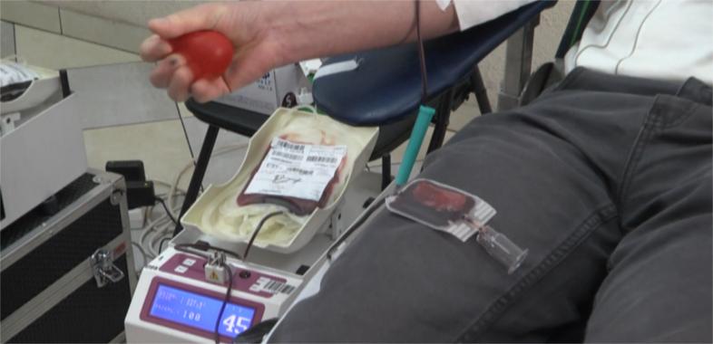 Zbiórka krwi u strażaków ochotników