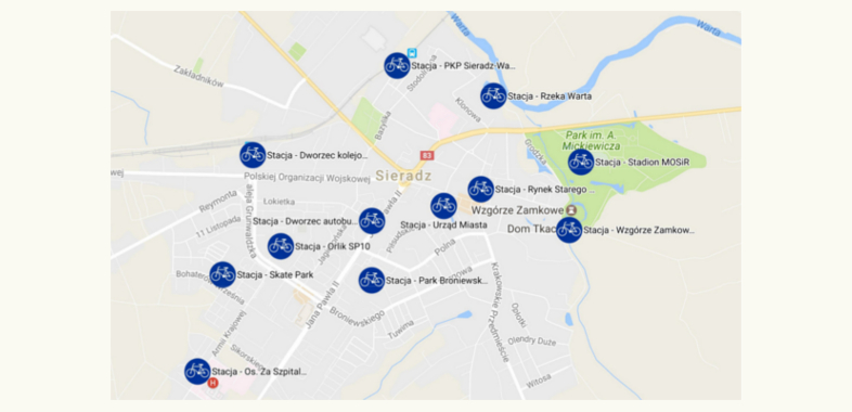 Rowery miejskie przegłosowane na sesji w Sieradzu
