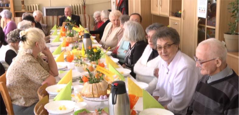 Śniadanie Wielkanocne w Miejskim Ośrodku Pomocy Społecznej w Sieradzu