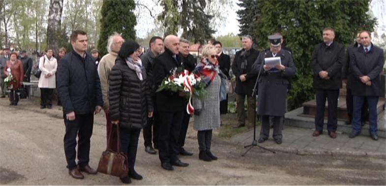 W Łasku uczczono 77. rocznicę zbrodni katyńskiej