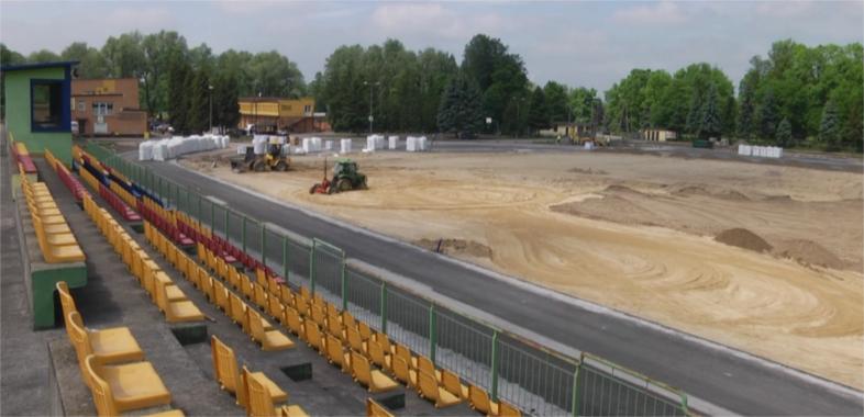 Remont stadionu MOSiR w Sieradzu