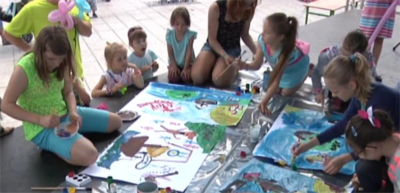 Świętowanie Dnia Dziecka w Łasku