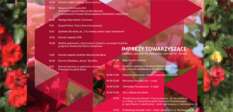 5. Festiwal Róż 2017 – zaproszenie