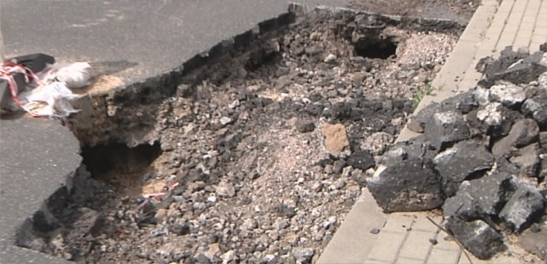 Czy będzie remont drogi w Marzeninie?
