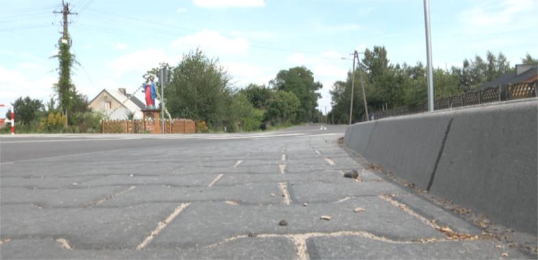 Nowo wyremontowana droga w gminie Wróblew