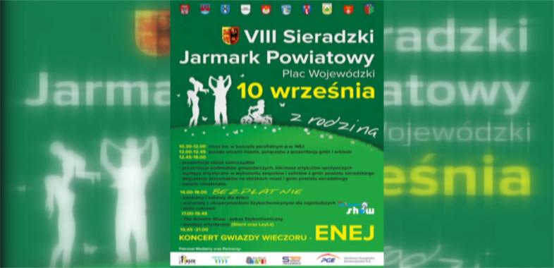 VIII Sieradzki Jarmark Powiatowy – ogłoszenie