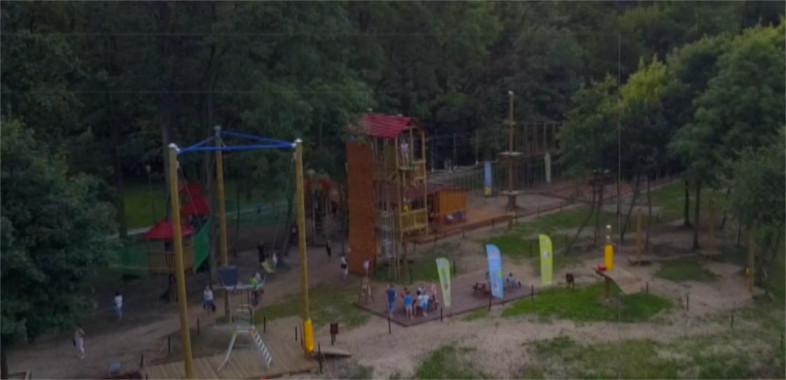 Termalny Park Linowy w Uniejowie – ogłoszenie