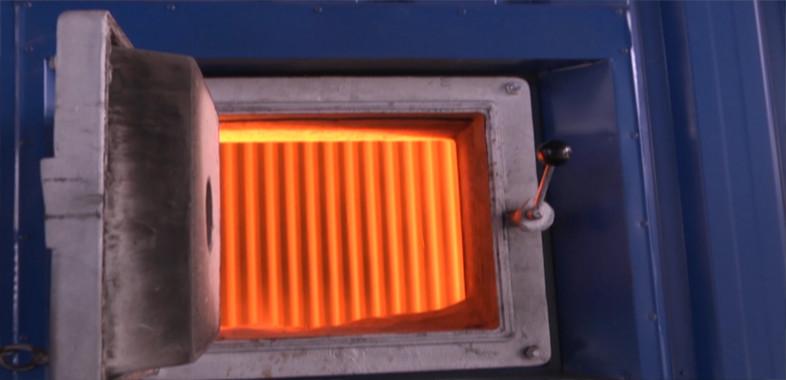 Wyremontowany kocioł w ciepłowni
