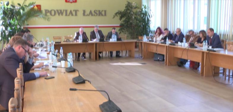 41. Sesja nadzwyczajna Rady Powiatu Łaskiego