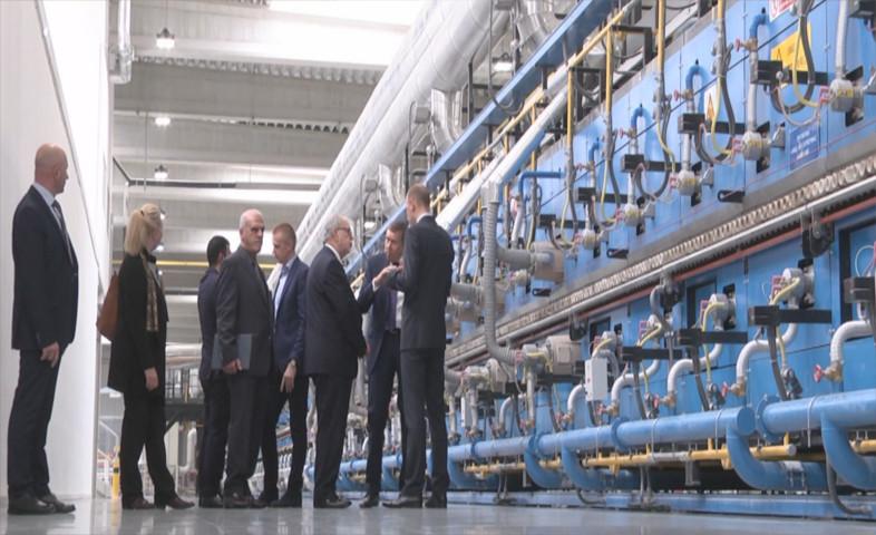 Wizyta Ambasadora Iraku w sieradzkiej fabryce Grupy Tubądzin