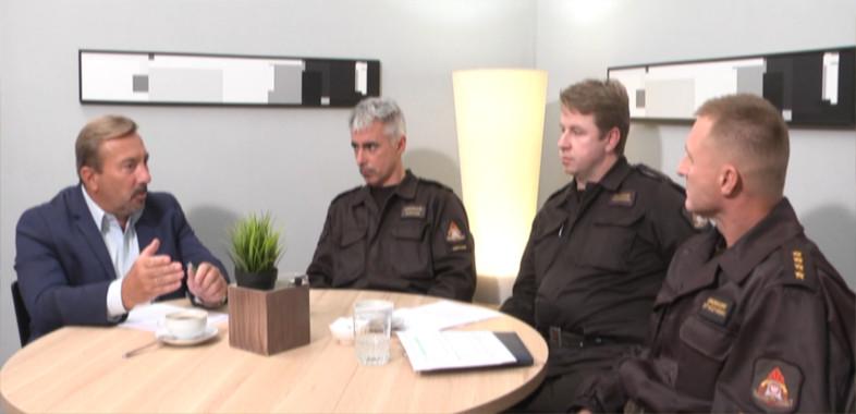 Nasze sprawy – rozmowa z rzecznikami Straży Pożarnej Sieradza, Łasku i Zduńskiej Woli