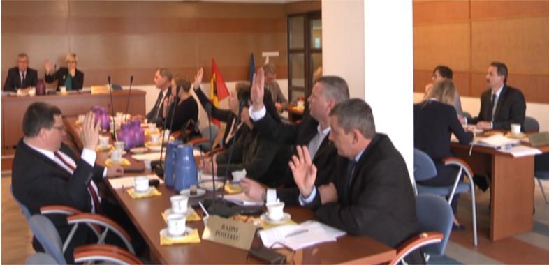Posiedzenie Rady Powiatu Sieradzkiego