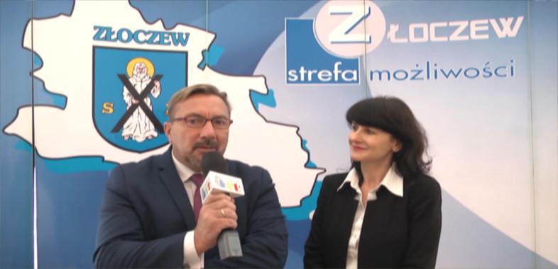 Wieści Regionalne – Rozmowa z burmistrzem Złoczewa Jadwigą Sobańską