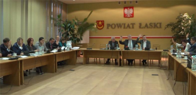 Sesja Rady Powiatu Łaskiego