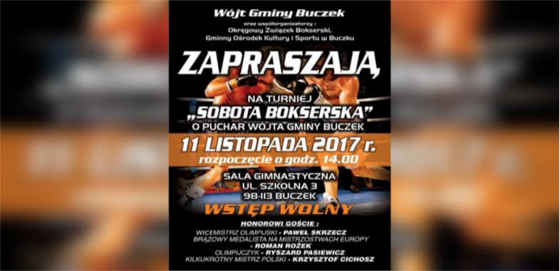 Gala boksu w Buczku – ogłoszenie