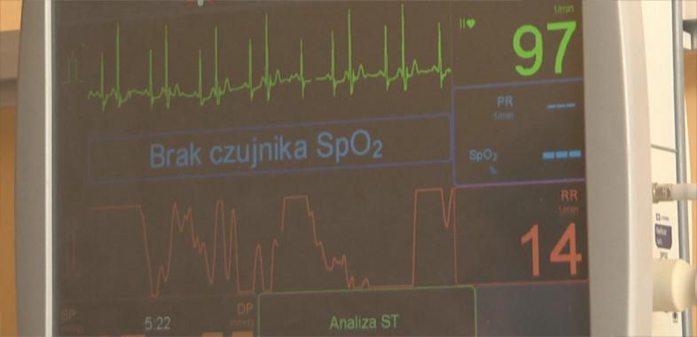 Nowy sprzęt na oddziale kardiologii