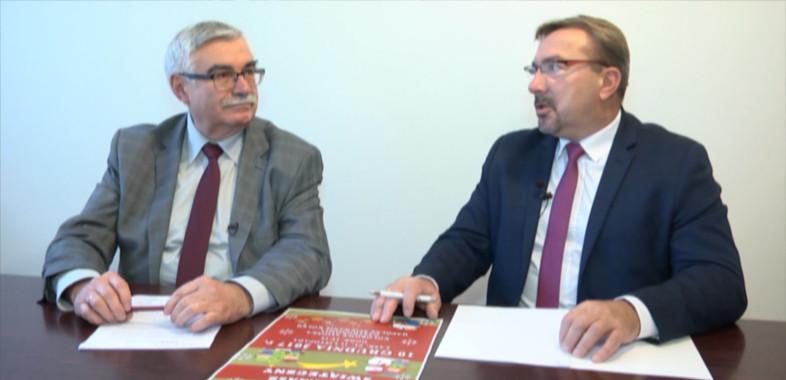 """""""Nasze sprawy"""" – rozmowa z burmistrzem Łasku Gabrielem Szkudlarkiem"""