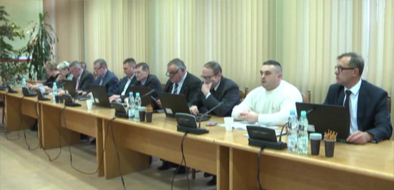 XXXVIII sesja Rady Miejskiej w Łasku