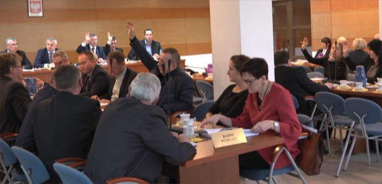 Sesja Rady Powiatu w Sieradzu