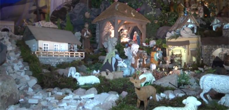 Klasztor Ojców Bernardynów w Warcie – Ruchoma Szopka Bożonarodzeniowa