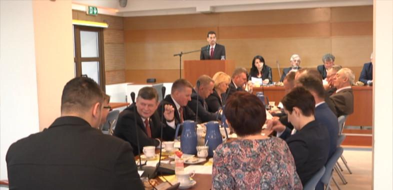Sesja budżetowa powiatu sieradzkiego