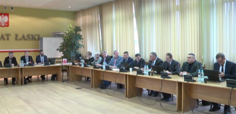 Sesja Rady Miasta w Łasku