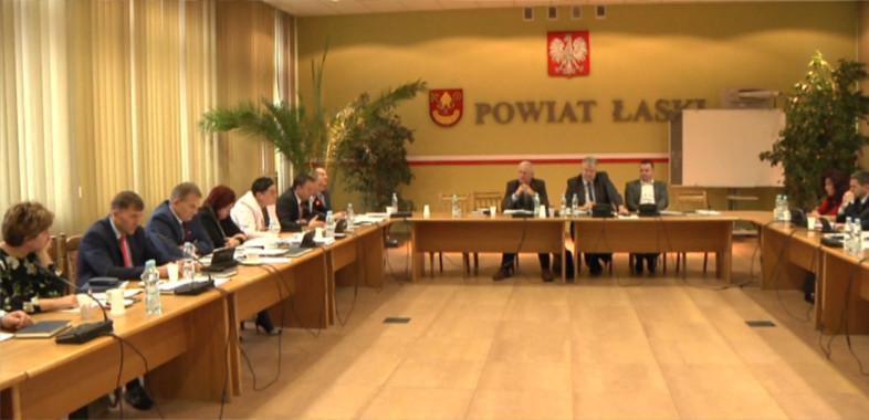 Sesja budżetowa w Łasku