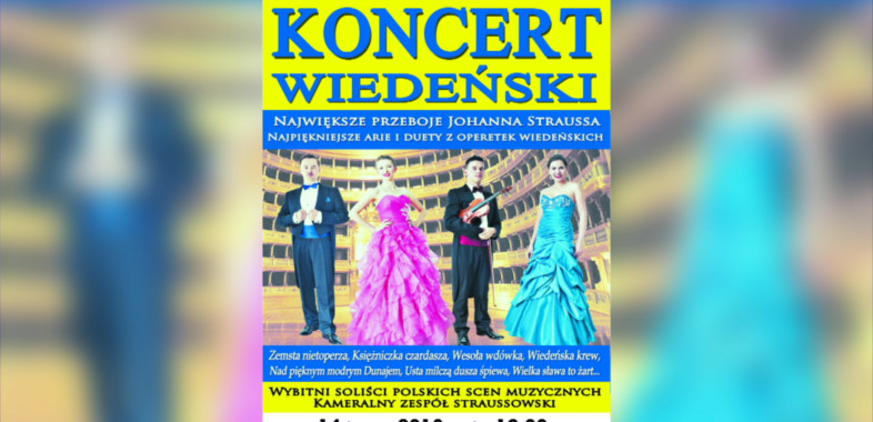 Gala Wiedeńska – ogłoszenie