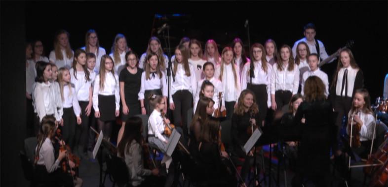 Koncert Noworoczny Państwowej Szkoły Muzycznej I st. w Sieradzu