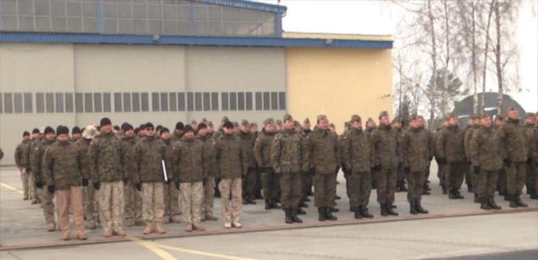 Powitanie III zmiany Polskiego Kontyngentu Wojskowego z Kuwejtu