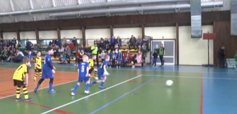I Halowy Turniej piłki nożnej w Łasku